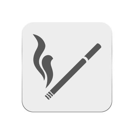 salud publica: icono de cigarrillo
