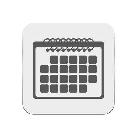 calendar icon: calendar icon Illustration