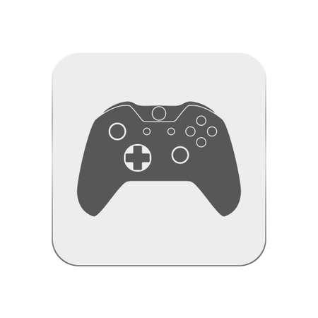 users video: gamepad icon Illustration