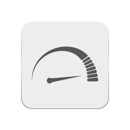 race winner: Speedometr icon Illustration