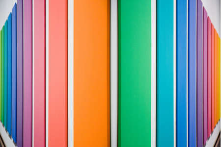 regimented: Colored panels