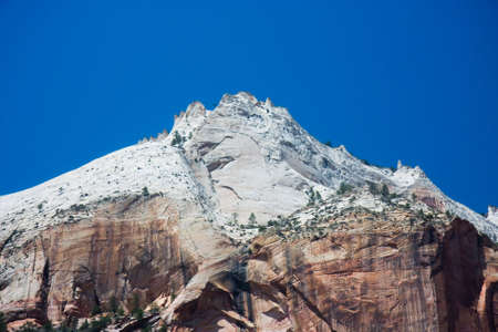 zion: Rock formations at Zion Canyon