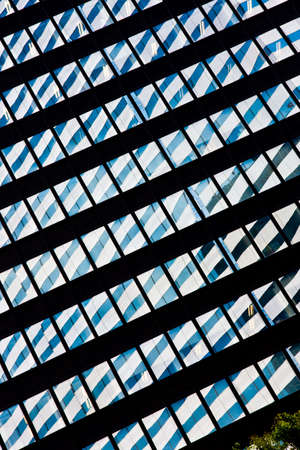 Reflections of one building in the windows of another Stock Photo - 4833492