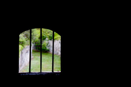 Looking out of Scaur Fort, Bermuda Stock Photo - 5644220