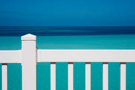 View of the sea from a hotel balcony Stock Photo - 9768984