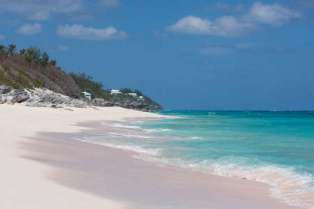View of a deserted beach in Bermuda Stock Photo - 9770024