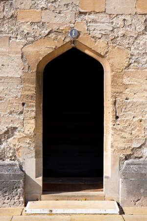 Arched stone doorway Stock Photo - 10610494