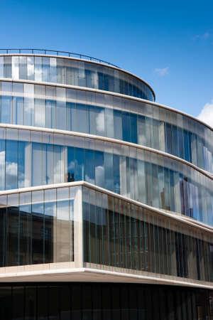 oxford: The Blavatnik School of Government, part of Oxford University, designed by Swiss architects Herzog & de Meuron