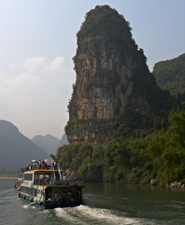 sights: where the karst mountains and river sights highlight the famous Li River cruise.