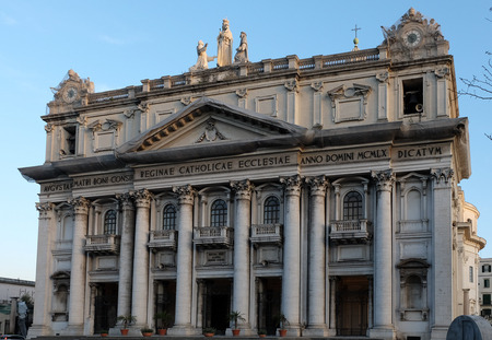 counsel: The Good Counsel church in Naples, imitation of St. Peter in the Vatican