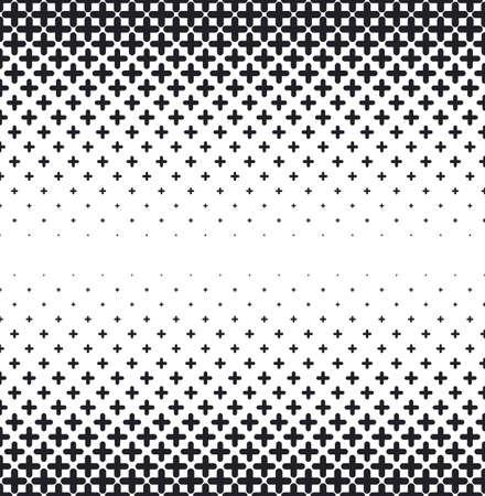 Vector el fondo abstracto de semitono, gradiente blanco negro del gradiente. El hexágono geométrico del mosaico forma el modelo monocromático. Diseño simple telón de fondo.