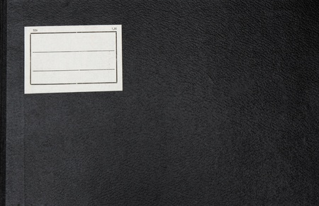 Cover of an old note book  Closeup, great for old school design