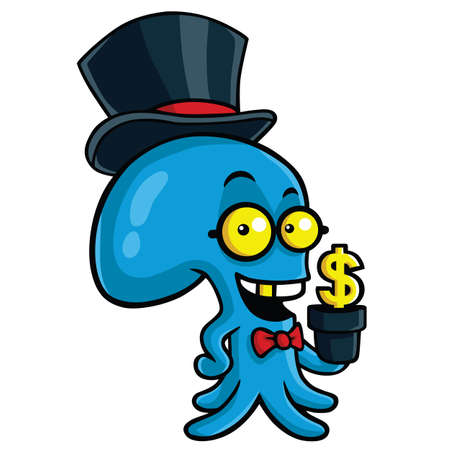 filthy: Filthy Rich Octopus Planting Money