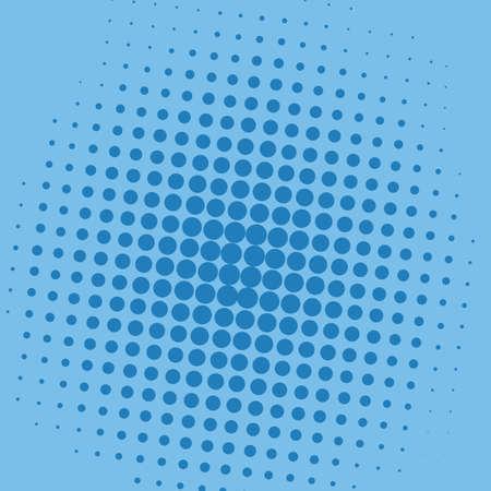 Dotted Pop Art Background Pattern Vector Ilustração