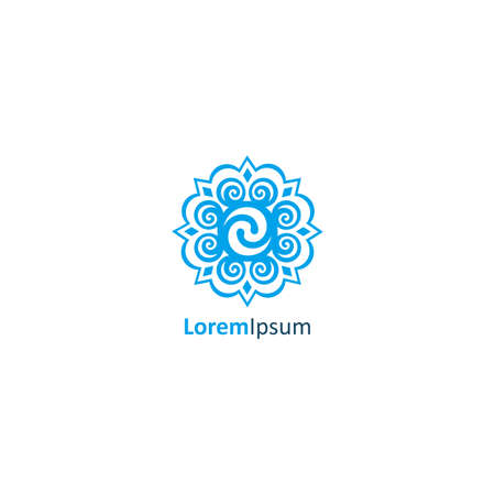 Beautiful Abstract Logo for Boutique, Flower Shop, Business Template