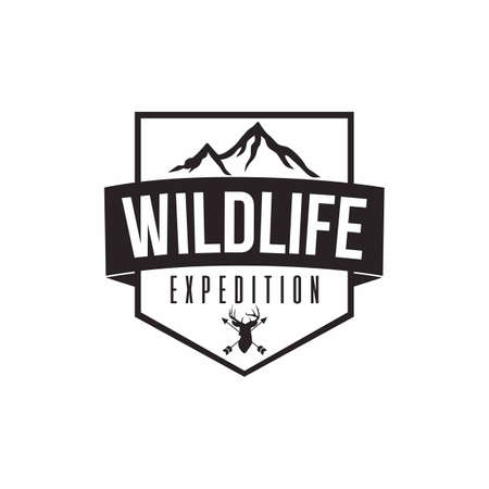 Wilderness Expedition Template Vector Design