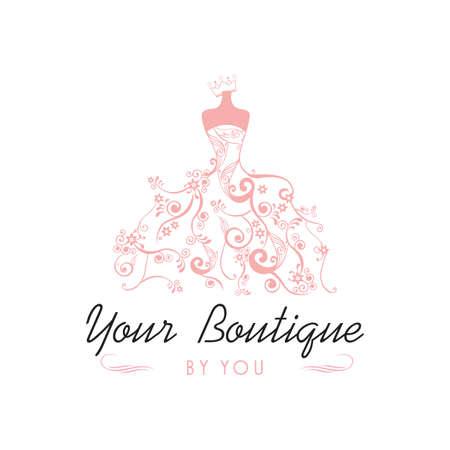Dress Boutique Bridal Template