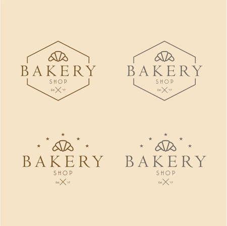 Bakery Logo Vintage Design Vector Illustration