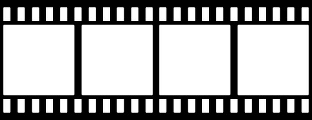 movie film: Film strip Illustration
