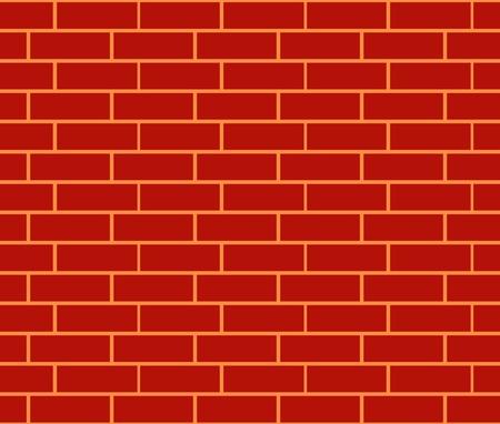 fire bricks: Brick wall