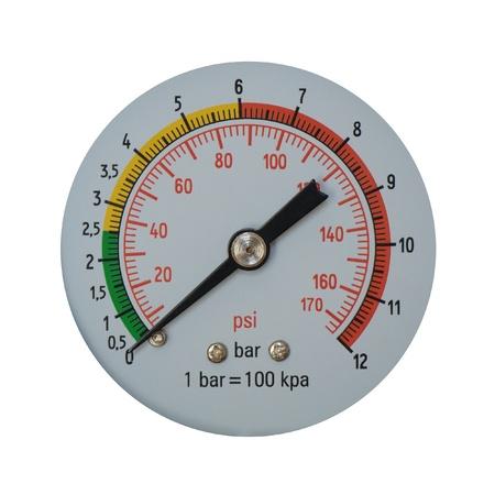 Manometer Stock Photo