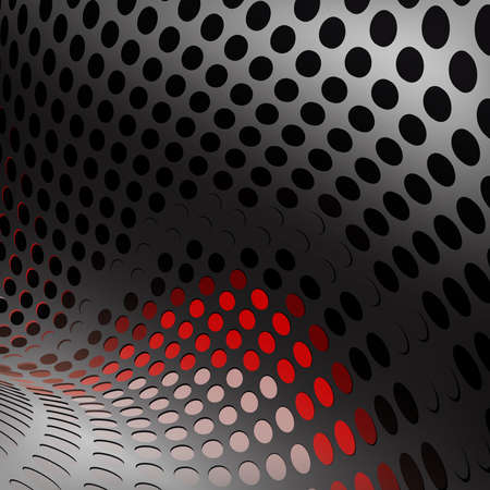 Abstract technology background with room for text. Illustration