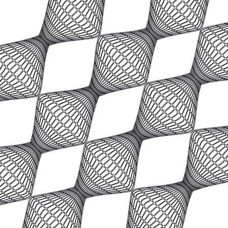 Pattern vector textures retro geometric