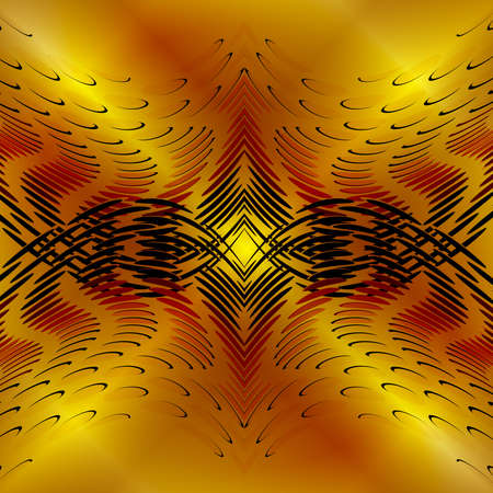 Gold design abstract Vector