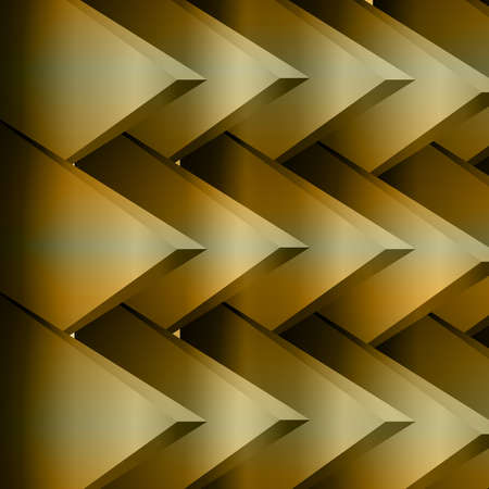 Abstract triangles background ,gold background ,web page background.