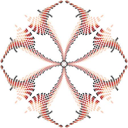 Background abstract pattern,fractal vector Illustration, dots ornate background.
