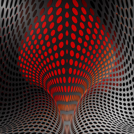 converge: Background abstract pattern,fractal vector Illustration, dots ornate background.