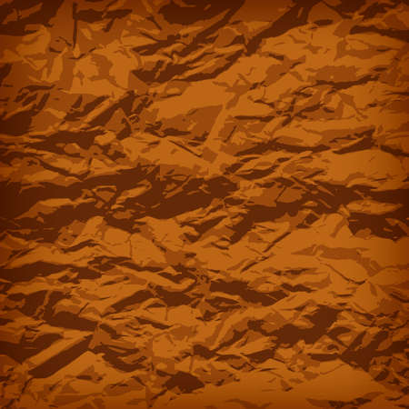 scrunch: Crumpled paper background vignette