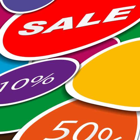 Stickers paper infografics, vector illustration for your business presentations,odern design template. Illustration