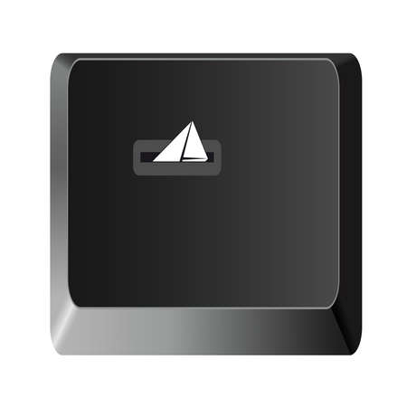 liberate: letter icon,envelope mail icon, computer keyboard,vector illustration