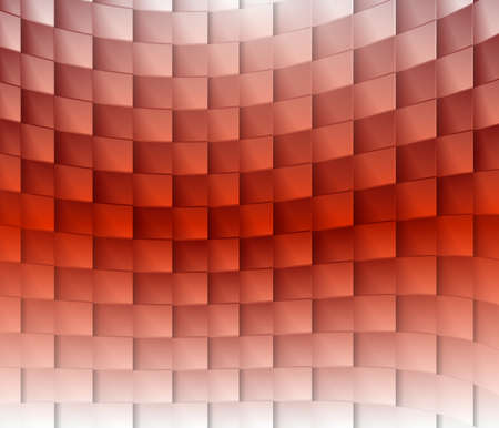 convergence: Colorful square light lines vector background. Illustration