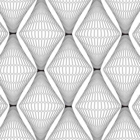convergence: vector seamless pattern, web page background, texture for wallpaper,vector illustration ,surface textures. Stock Photo