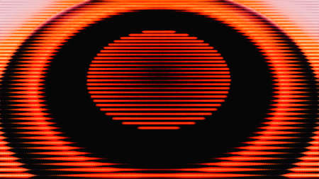 Futuristic circle background.Color energy ring.