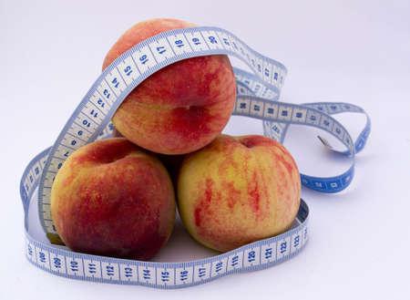 chomp: Fresh peaches and measuring tape