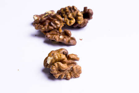 Walnut and close-focus range in the background more nuts