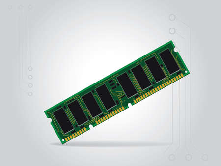 Memory card for computer