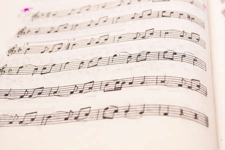 Old music sheet page - art,  background