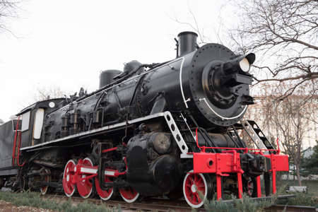 Steam train Banque d'images