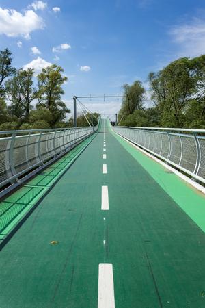 morava: bridge Stock Photo