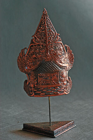 chalices: Copper from a home craft industry from Tumang, Cepogo, Boyolali, Central Java, Indonesia