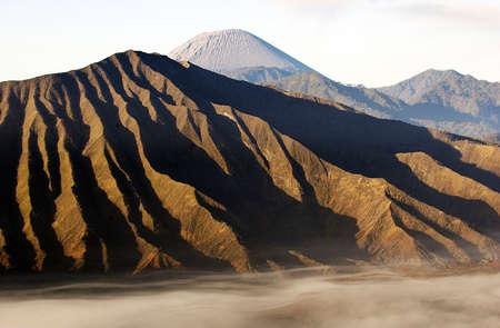 Sunrise at Mount Bromo, East Java, Indonesia Stock Photo