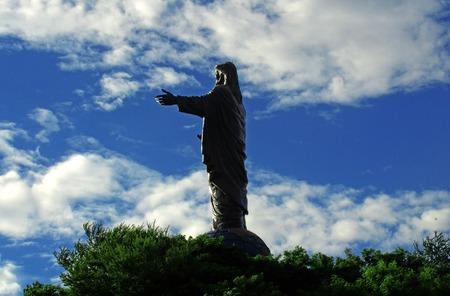 rei: Fatucama Cristu Rei statue in Dili, Timor Leste