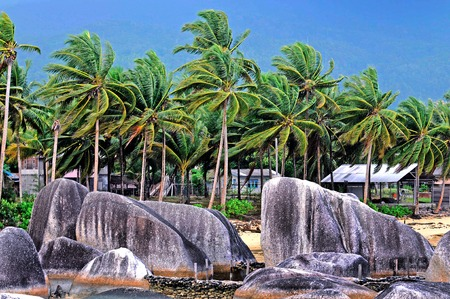 Stone garden in Natuna, Riau Islands Porvinsi, Indonesia