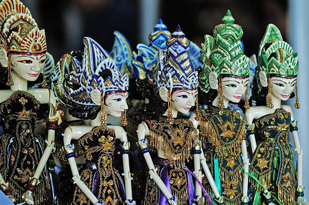 wayang golek is Sundanese traditional art puppet from Indonesia