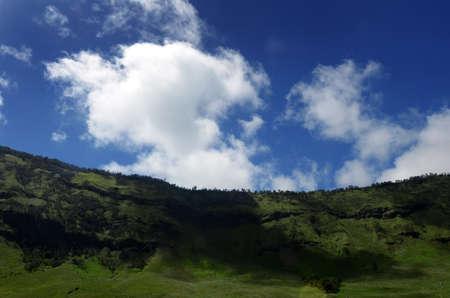 tengger: Landscape at Bromo Mountain Tengger, East Java, Indonesia
