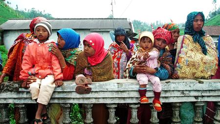 tengger: Tengger tribe, Mount Semeru, Lumajang, East Java, Indonesia. Photo taken on May 20th, 2009.